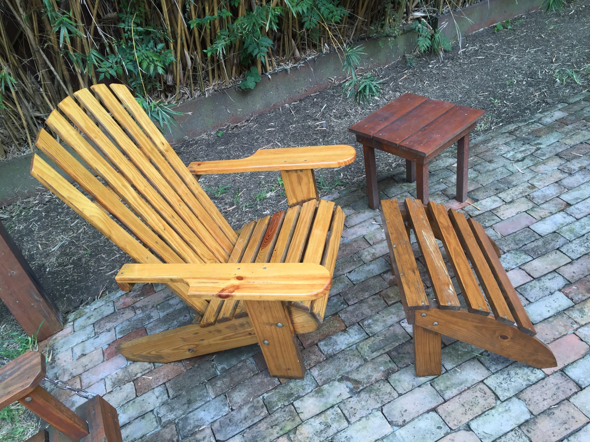 Adirondacks Chairs & Ottomans NOLA Woodworks