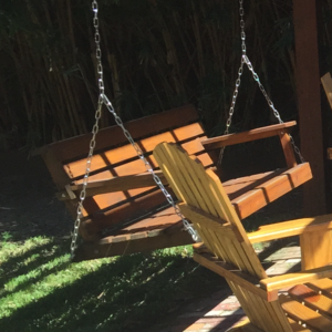 if you prefer another wood type stain color or size we can customize your swing to fit your porch needs please contact us to go over your options for a - Wooden Porch Swings