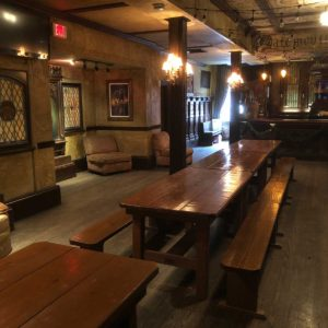 Farm House Tables & Benches for event at House of Blues New Orleans